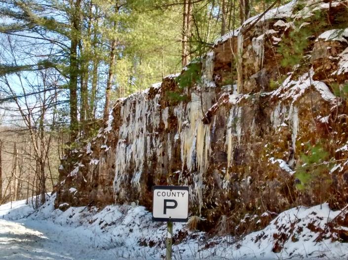 Lichen Site ice